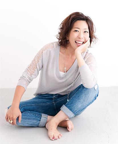 前谷玲子のイメージ